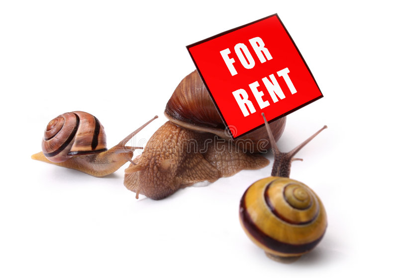 Home For Rent stock photography