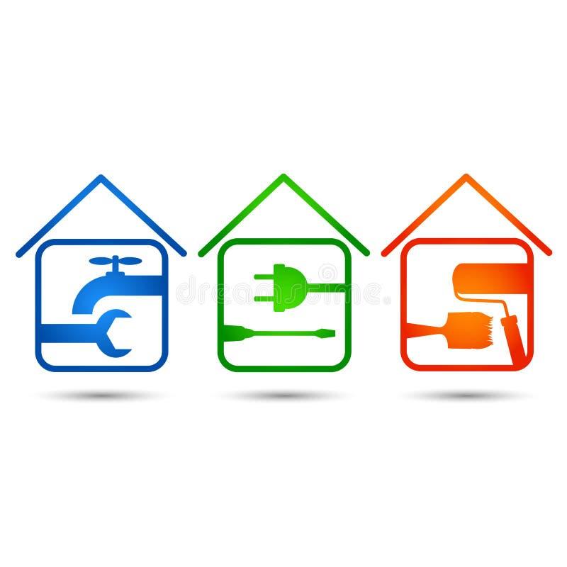 Home repair royalty free illustration