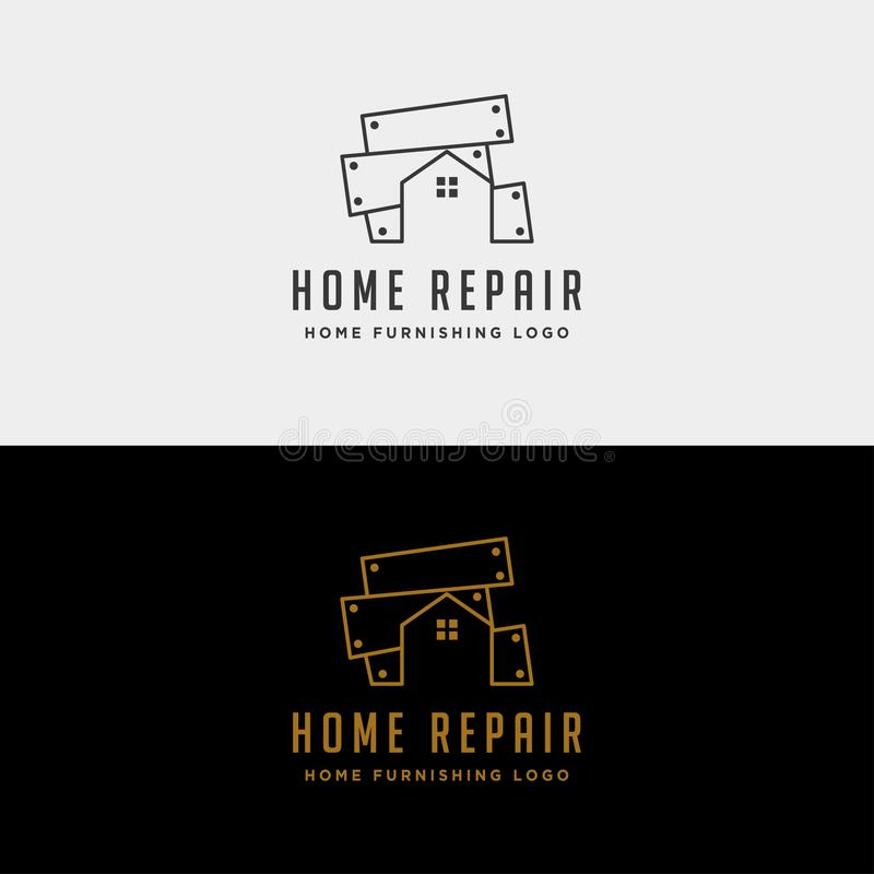 Home repair logo design vector icon isolated. Home repair logo design vector icon element isolated, abstract, architecture, background, build, business, company vector illustration
