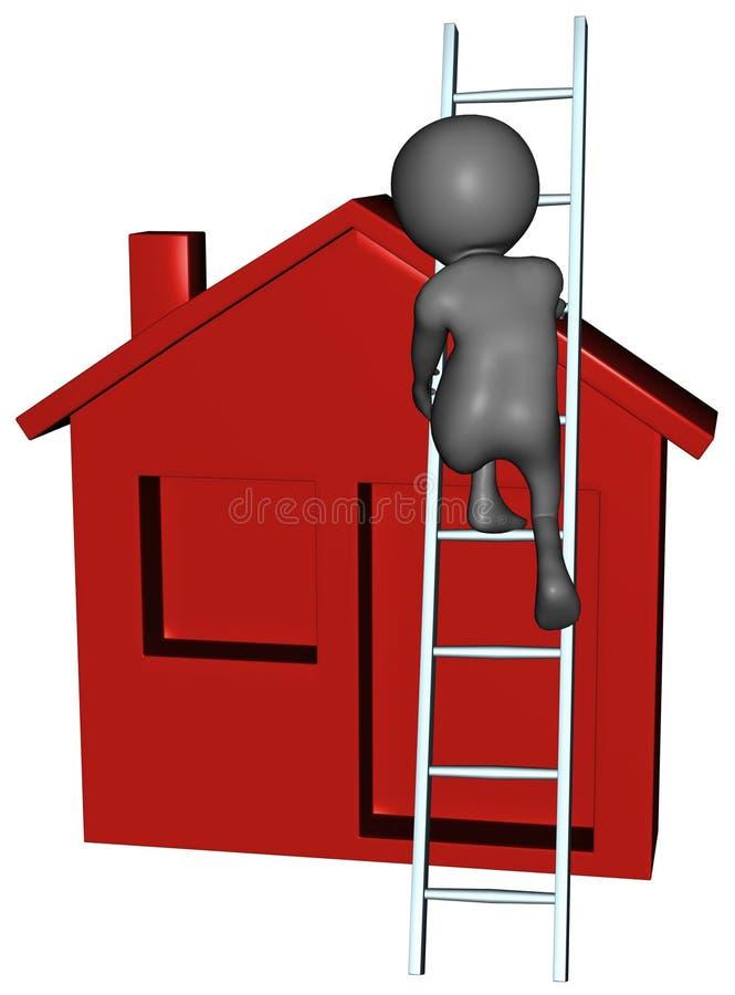 Home Repair Maintenance Remodel Update. Isolated graphic representing home repair or repairs. Also maintenance, remodel, remodeling, update, updates, and stock illustration