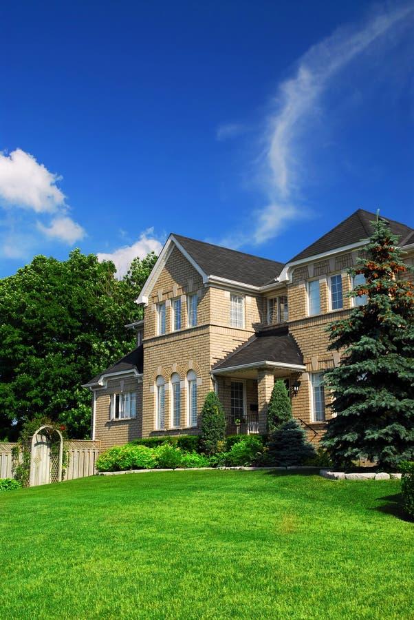 HOME residencial fotos de stock royalty free
