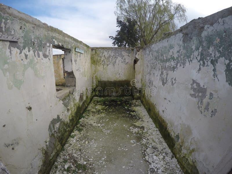 Home ruins royalty free stock photos