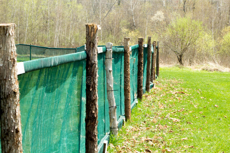 Download Home Run Fence stock image. Image of fence, home, post - 91657579