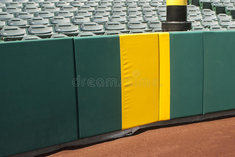 Home Run Foul Pole royalty free stock images