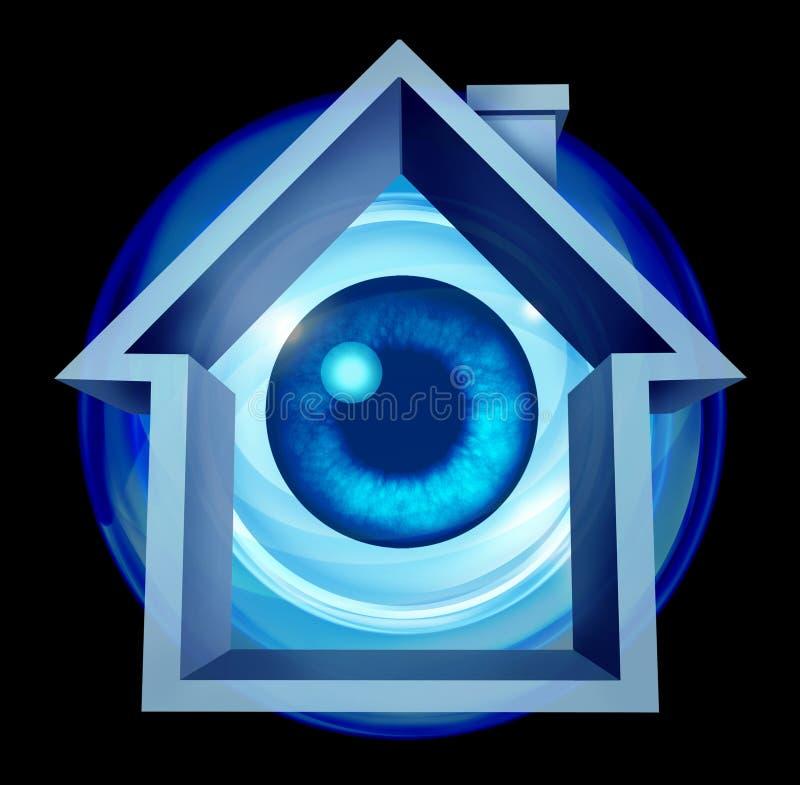 Home säkerhet stock illustrationer