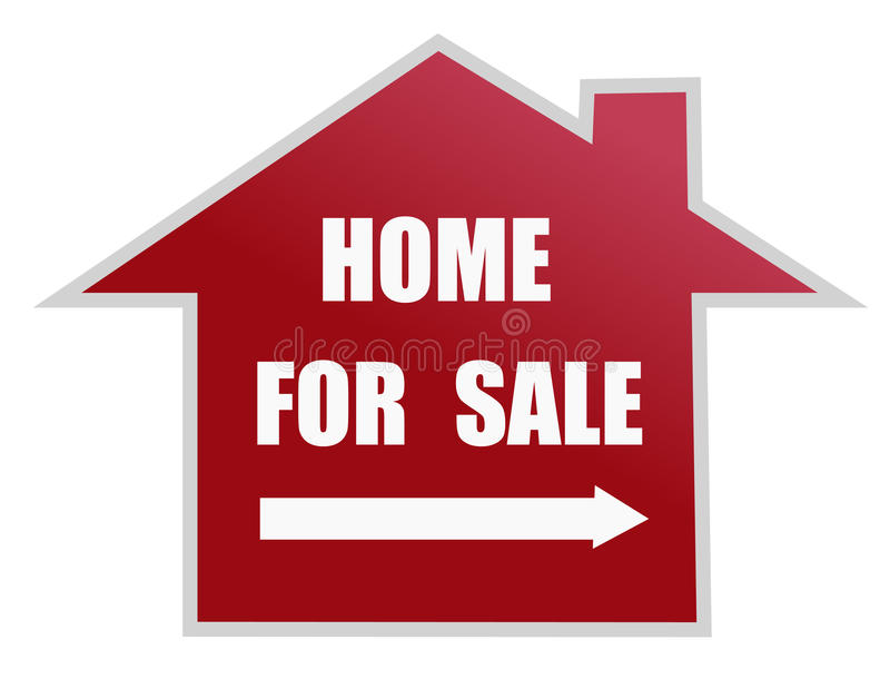 Download Home for sale sign stock vector. Illustration of property - 21895533