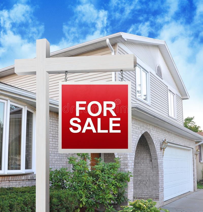 Download Home for Sale Sign stock image. Image of interest, housing - 27300633