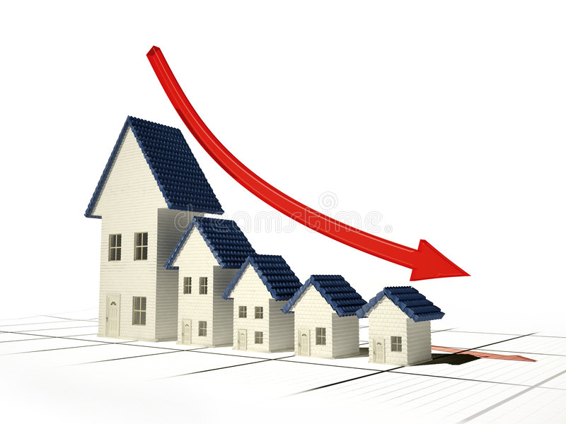 Home sales stock illustration