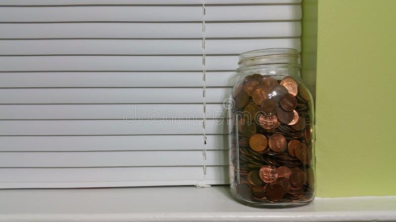 Home Savings. Savings at home stock photography
