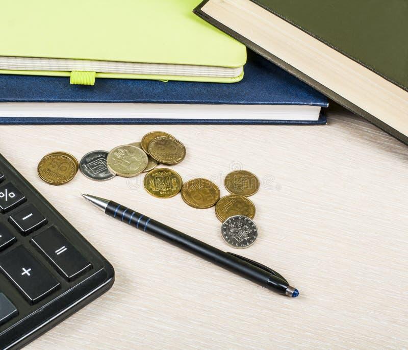 Home Savings, Budget Concept. Notepad, Pen, Calculator