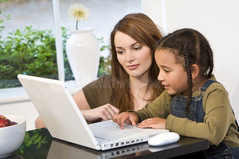 Home Schooling stock photos