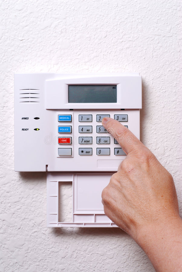 Home Security stock photos