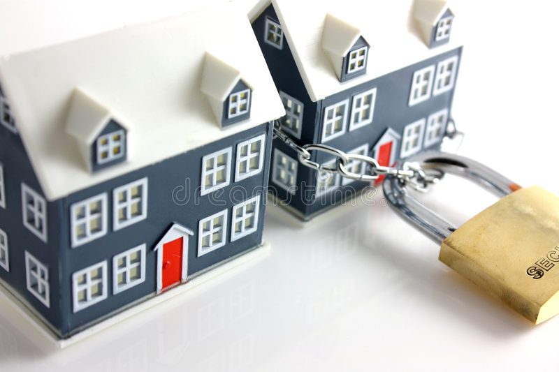 Home security royalty free stock image