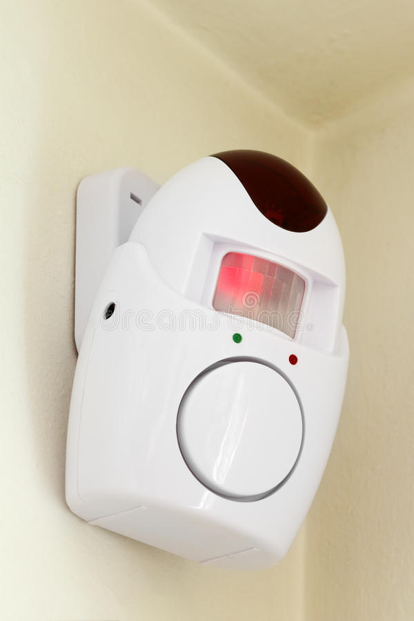 Home security system - alarm royalty free stock photo