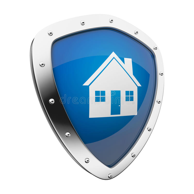 home shield stock illustration illustration of cover 19691589