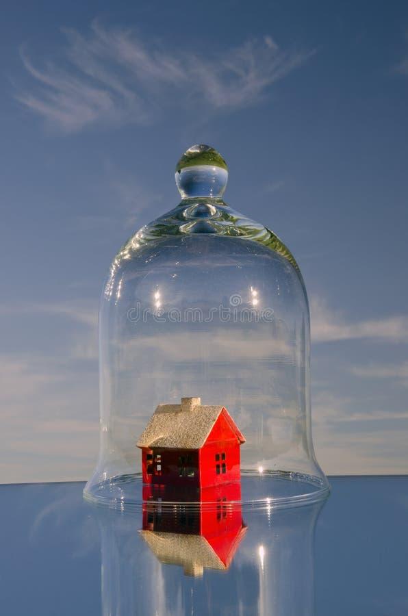 home skyddssymbol arkivfoton