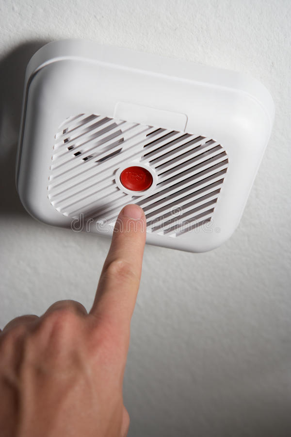 Download Home smoke alarm stock image. Image of inside, protection - 21591329