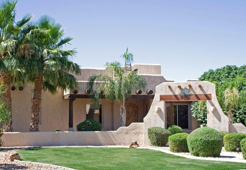 home southwestern för Adobe royaltyfria foton