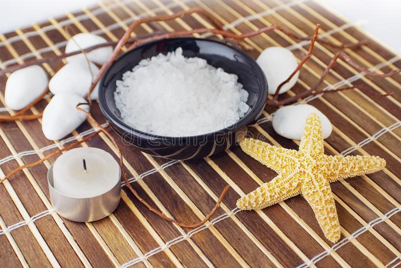 Home Spa royalty free stock photography