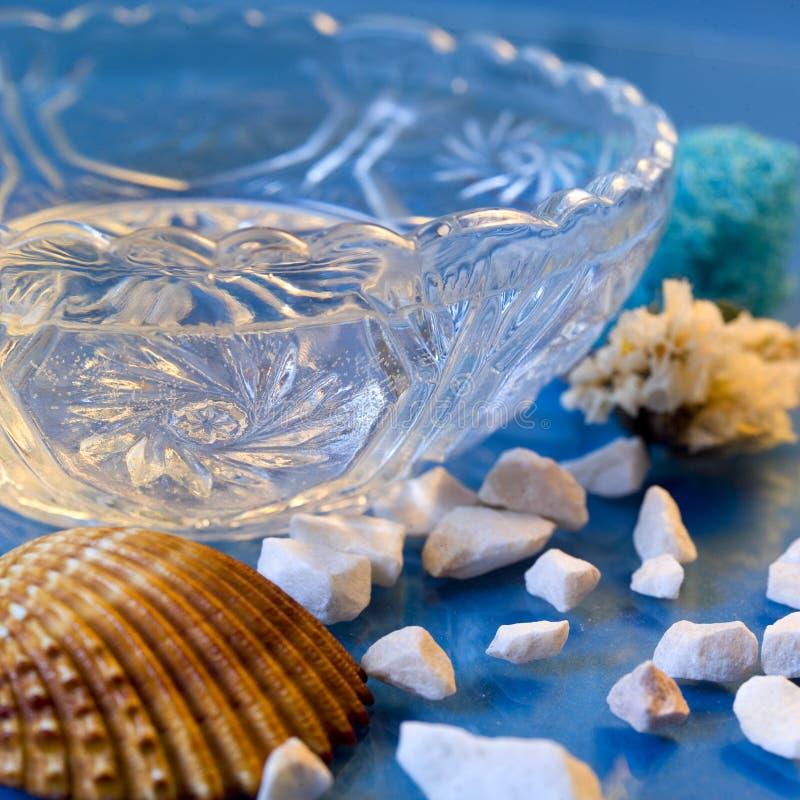 Home spa badstilleven royalty-vrije stock afbeeldingen