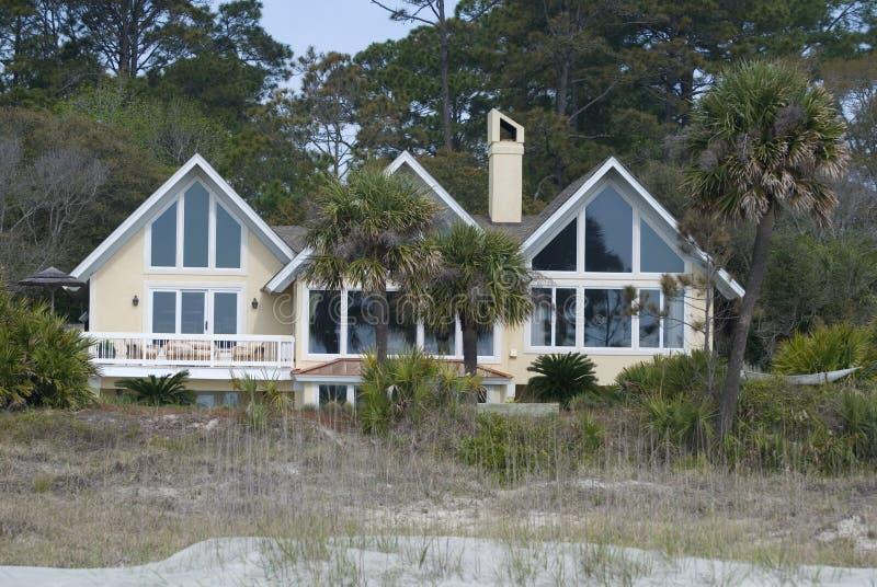 home stort för strand royaltyfria bilder