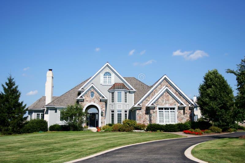 HOME suburbana imagens de stock royalty free
