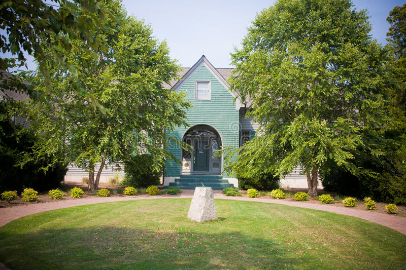 Download Home With Sundial In Yard stock image. Image of homes - 27415923