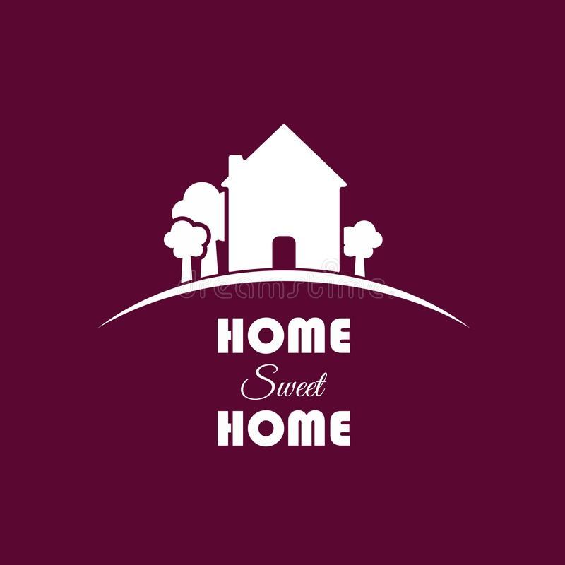 Home Sweet Home illustration stock