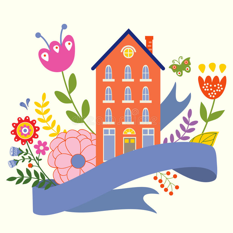home sweet royalty ilustracja