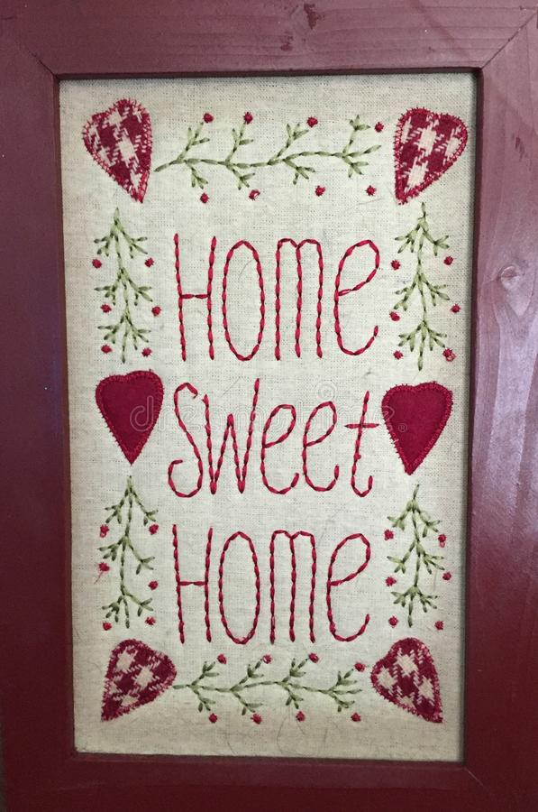 Home sweet home picture frames.