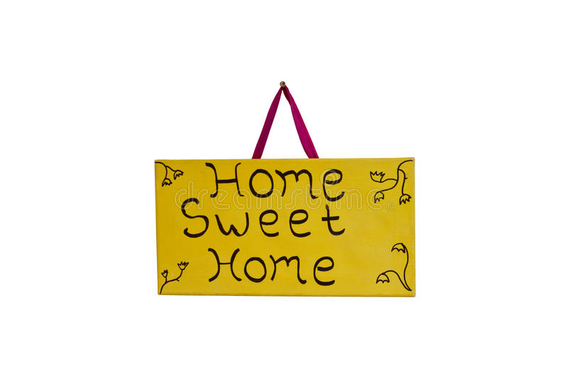 Download Home Sweet Home stock photo. Image of design, draw, decoration - 31810906