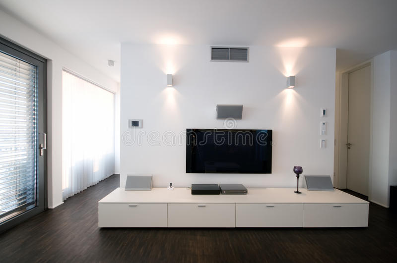 Download Home Theater stock photo. Image of luxury, furniture - 12802740