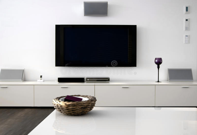 Download Home Theater stock image. Image of contemporary, living - 13013975