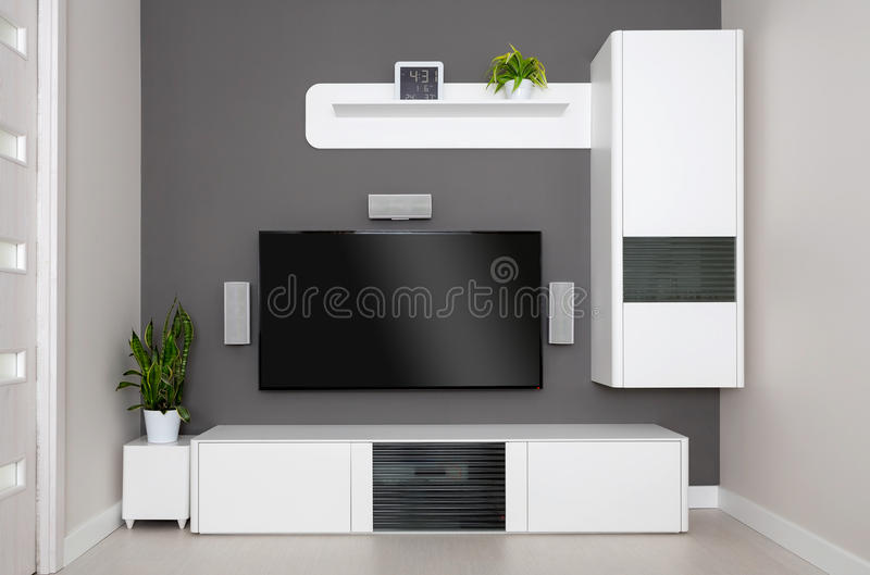 Home theater. royalty free stock image