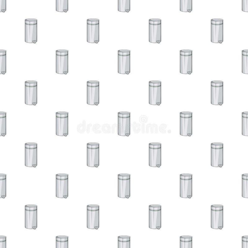 Home trash pattern, cartoon style. Home trash pattern. Cartoon illustration of home trash vector pattern for web royalty free illustration