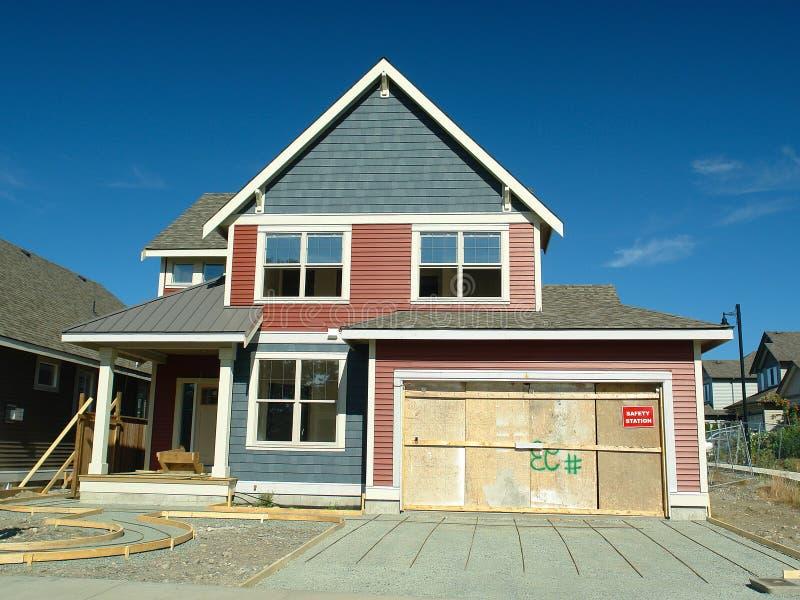 Home Under Construction stock photos