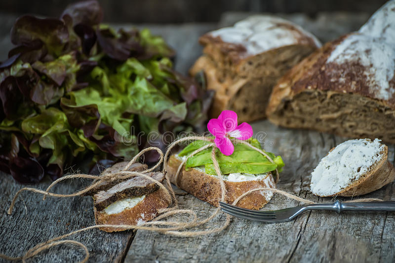 Home useful simple food. royalty free stock photo
