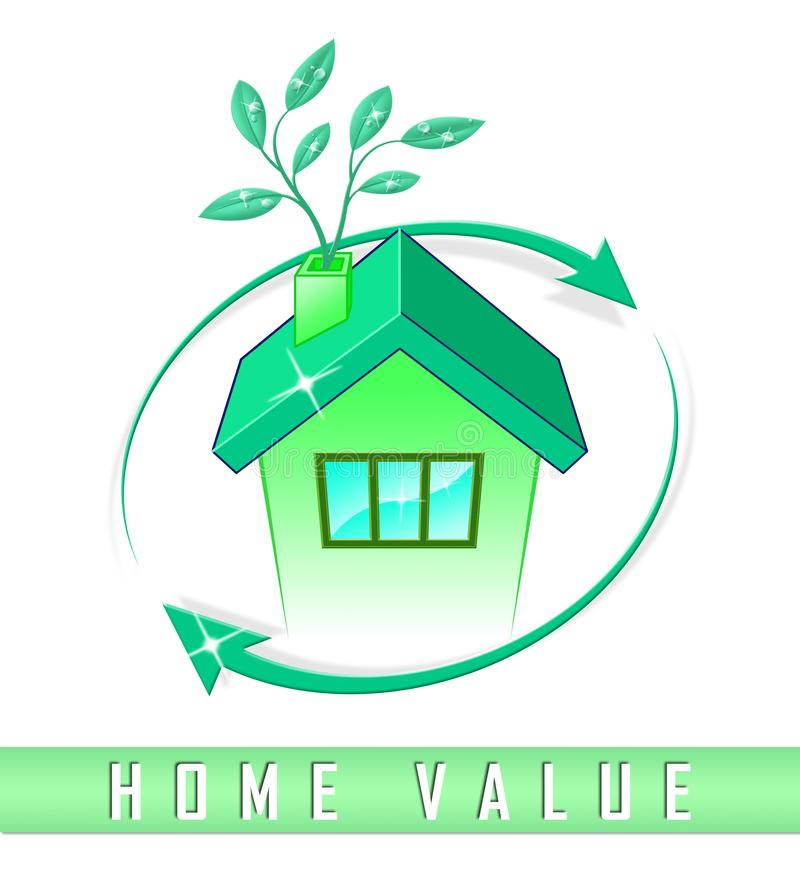 Home Value Report Icon Demonstrates Pricing Property For ...