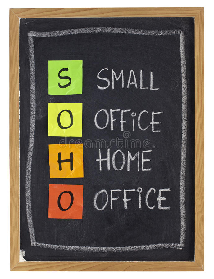Download Home Or Virtual Office Concept Stock Image - Image: 17857385