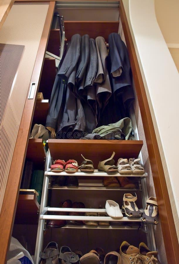 Home wardrobe royalty free stock photos