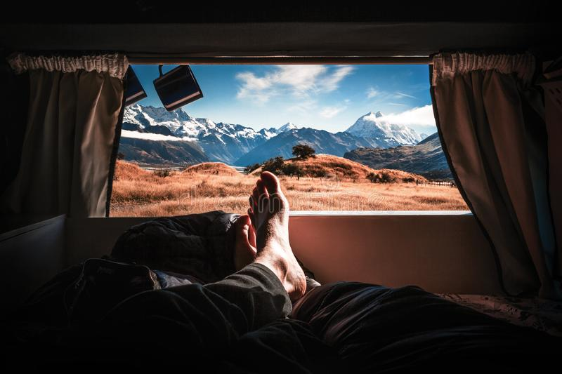 Home on wheels royalty free stock images