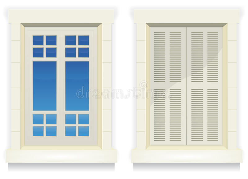 Download Home Window - Awake And Asleep Stock Vector - Illustration of apartment, edge: 25437282