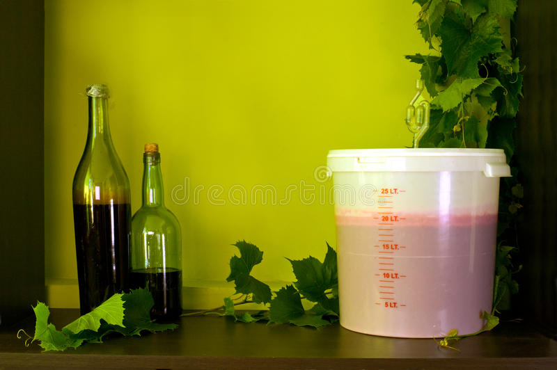 Home winery royalty free stock photo
