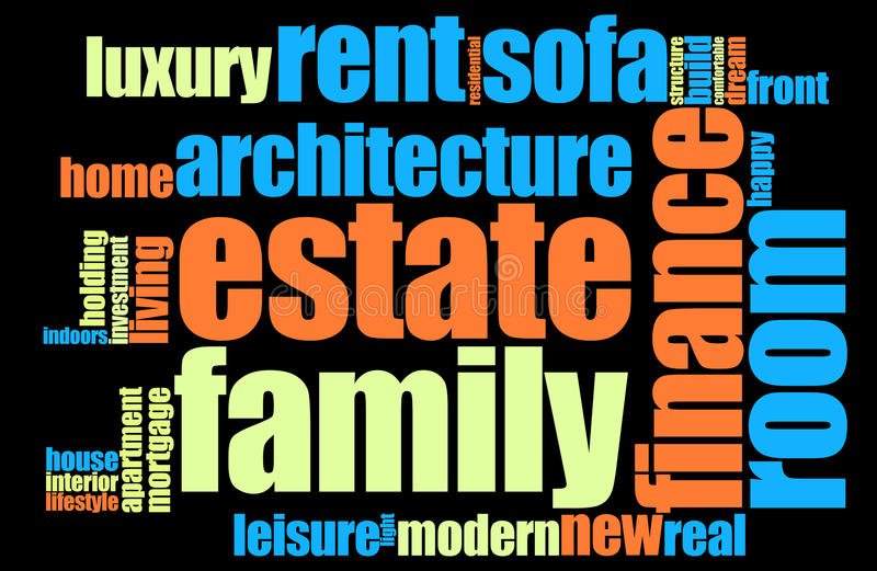 Download Home Word Cloud Royalty Free Stock Photos - Image: 20056338