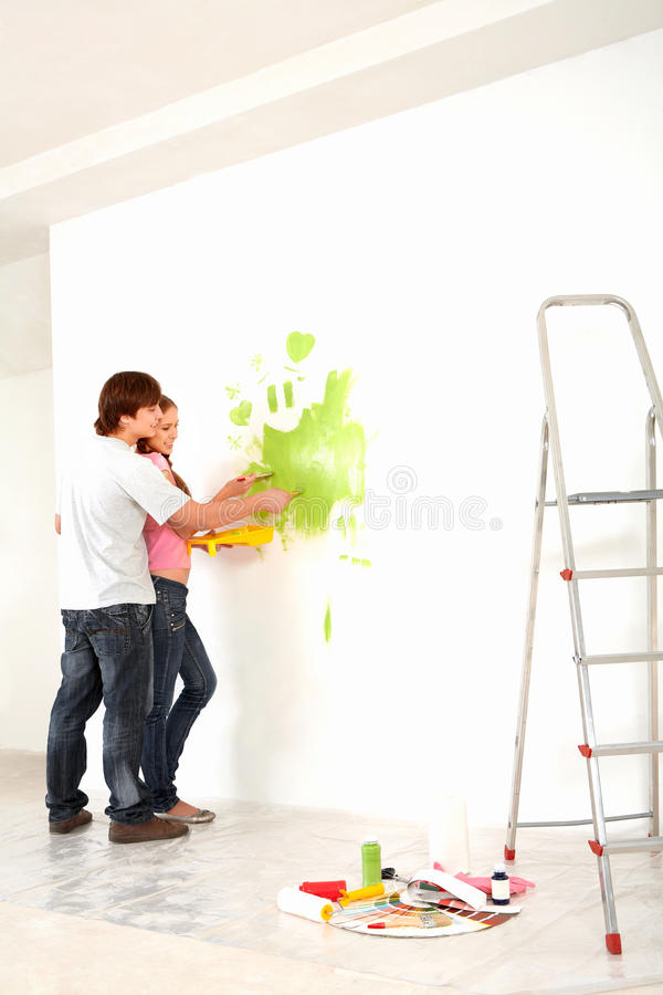 Home Work Stock Photography