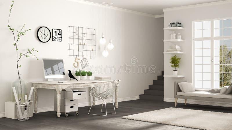 download design home office corner. Download Home Workplace, Scandinavian White Room, Corner Office, Classic Stock Illustration - Design Office T
