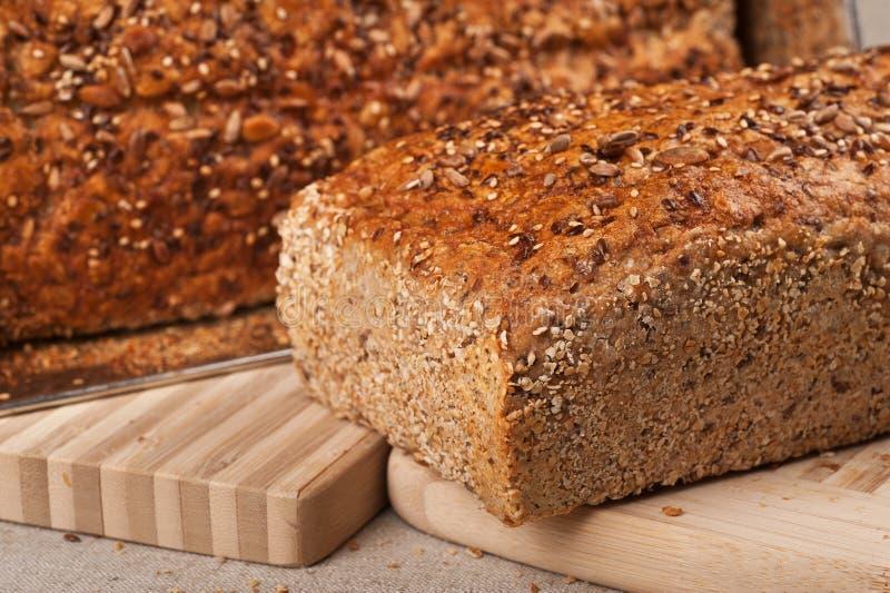 Homebaked Brot stockbild