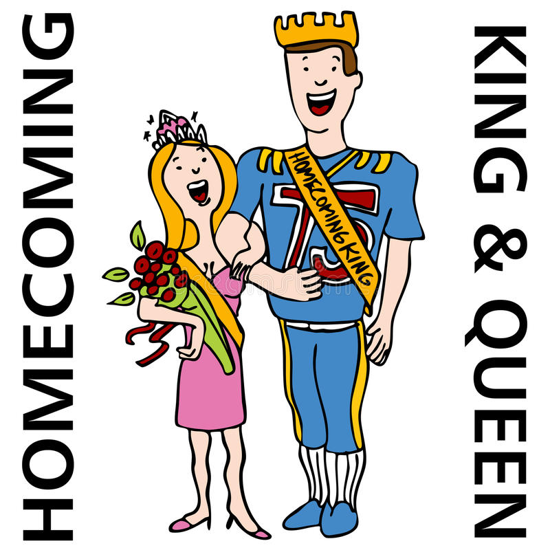 Free Homecoming King And Queen Royalty Free Stock Photo - 16995595
