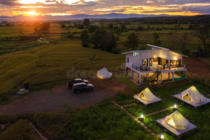 Homeestay w hrabstwie Pua obraz royalty free