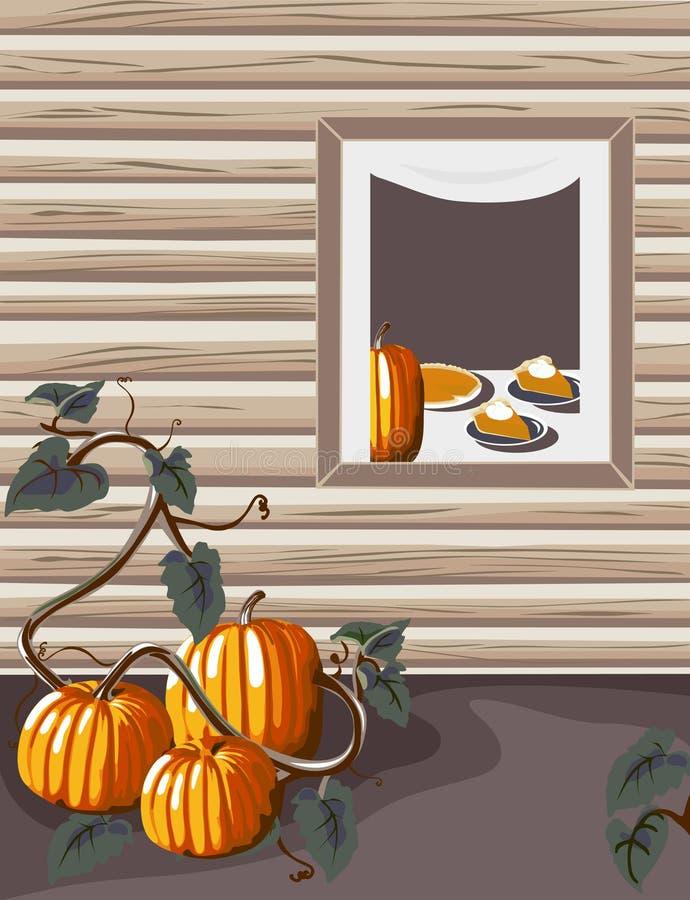 Download Homegrown Pumpkins stock vector. Image of fruit, illustration - 3460792